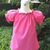 Hot Pink Peasant Top 12M To 7, Girl Top, Girl Blouse, Toddler Top, Toddlers