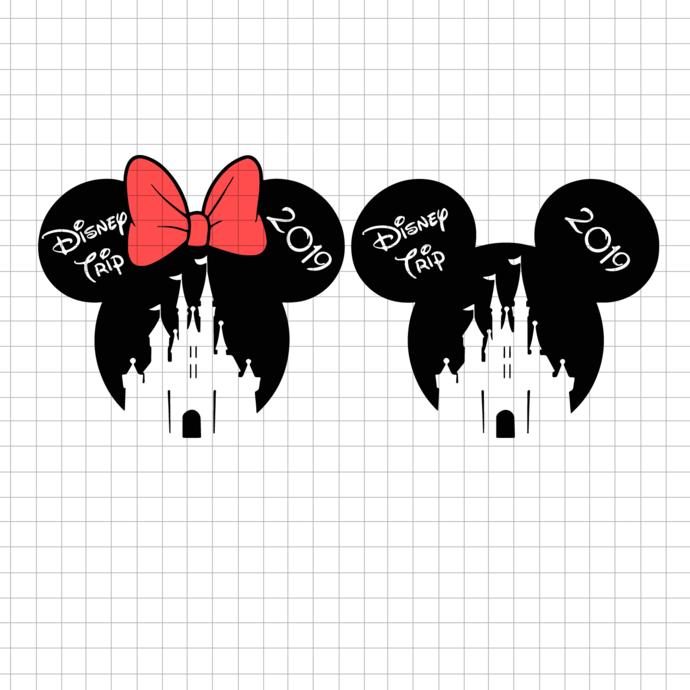 Disney trip SVG, 2019 Disney Vacation svg, Disney svg and png file instant