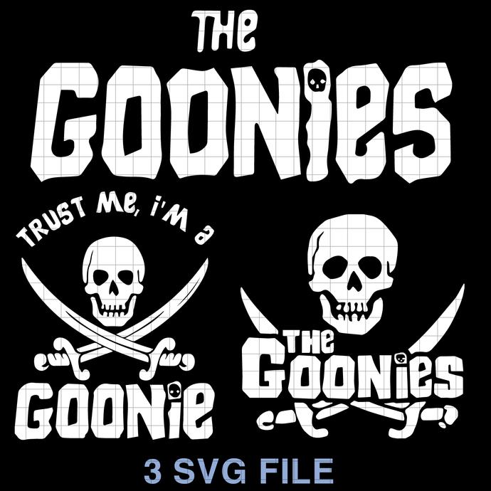 The Goonies, The Goonies Never Say Die, The Goonies Trust Me SVG png dxf svg