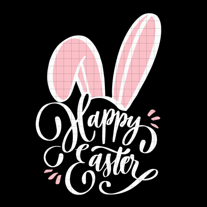 Happy Easter bunny svg, Easter  svg, png, dxf, svg cricut silhouette