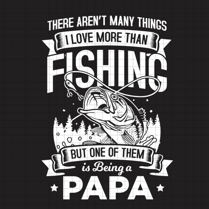 Papa Fishing Svg, Grandpa Gift Outdoor svg, Fisherman Gifts Dad, For Fathers