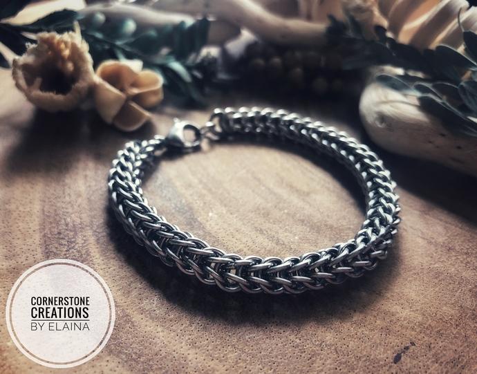 Stainless Steel Full Persian Bracelet