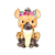 Hyena with Flowers - Hiëna - Safari Animals Series - Wall Decal - Great For
