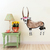 Oryx with Flowers - Gemsbok - Safari Animals Series - Wall Decal - Great For