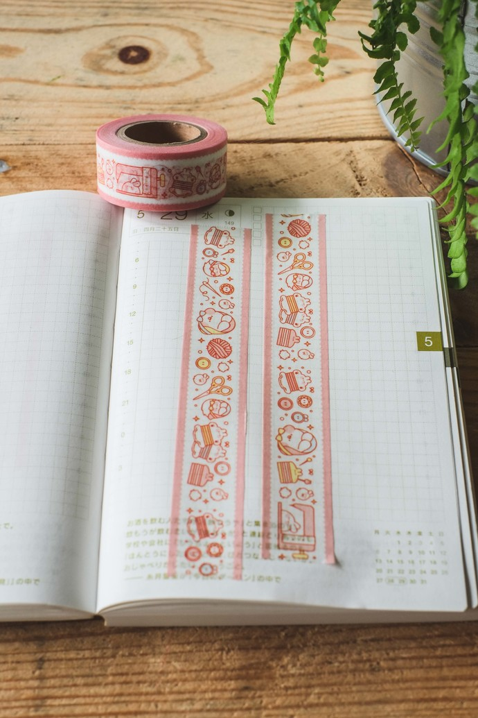 Put So Nyeon cute washi tape - Sewing - 2cm wide tape 10m long