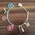 Louis Vuitton style jewelry, Louis Vuitton style bracelet, designer jewelry,