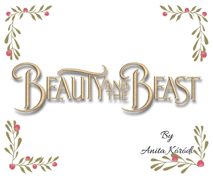 Beauty and the Beast Pes Embroidery Machine Designs