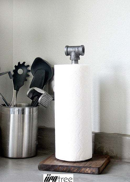 Vienne Paper Towel Holder | Industrial Paper Towel Holder | Pipe Paper Towel