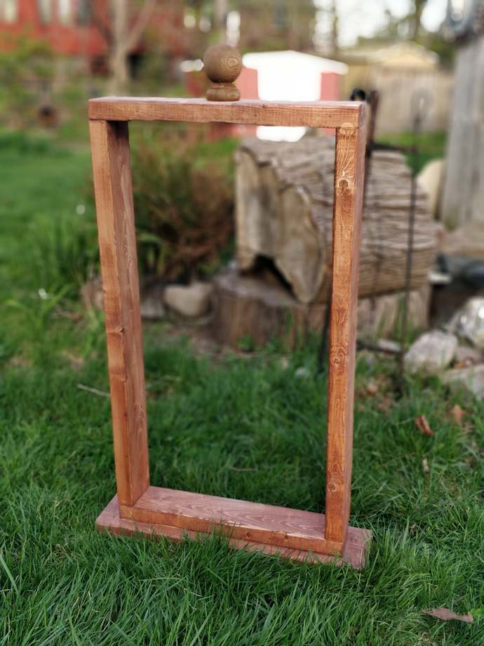 Hanging Basket Wood Stand - FREE SHIP!! | Hanging Planter | Plant Hanger |