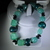 Handmade polymer-clay stretch bracelet, free shipping USA only