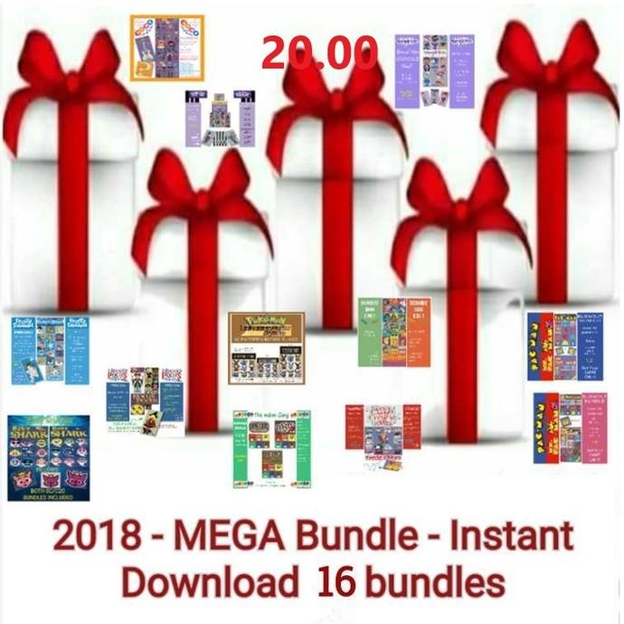2018 MEGA Collector s Bundle -16 Bundles included Graphs/ w writtens