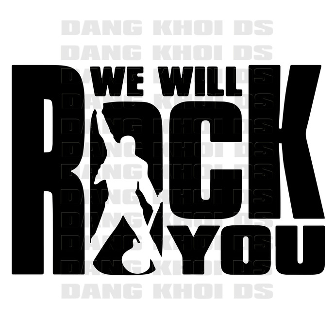 Freddie Mercury svg, We will rock you svg, Queen band svg, Bohemian Rhapsody