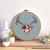 Pagan Spring floral Skull cross stitch pattern