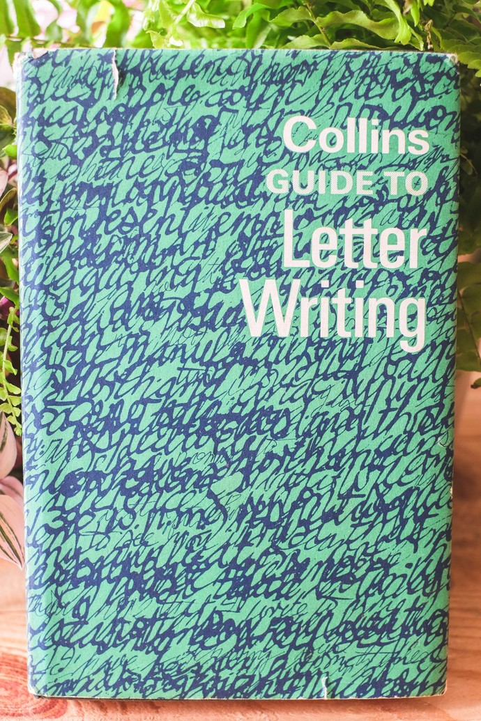 Vintage book 1966 - Collins Guide To Letter Writing