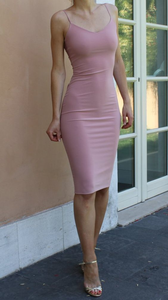 Special Occasion Dresses,Homecoming Dresses,tight pink Homecoming Dresses,