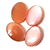 12x16 Peach Pink Moonstone oval cabochon Semi Precious  Loose Gemstone