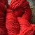 Red wool yarn - Peace Fleece worsted weight wool for felting, knitting or