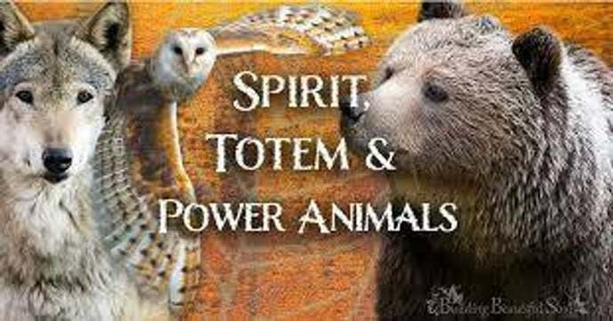 POWER ANIMALS AND SPIRIT GUIDES