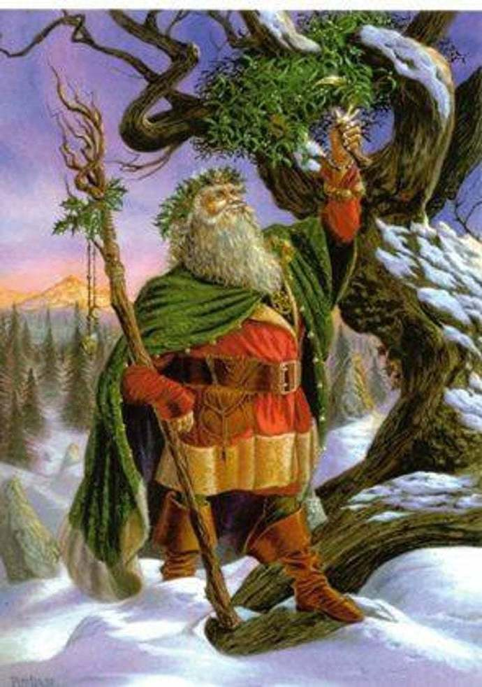 WROTE IN THE STARS .. A PAGANS VIEW OF SANTA