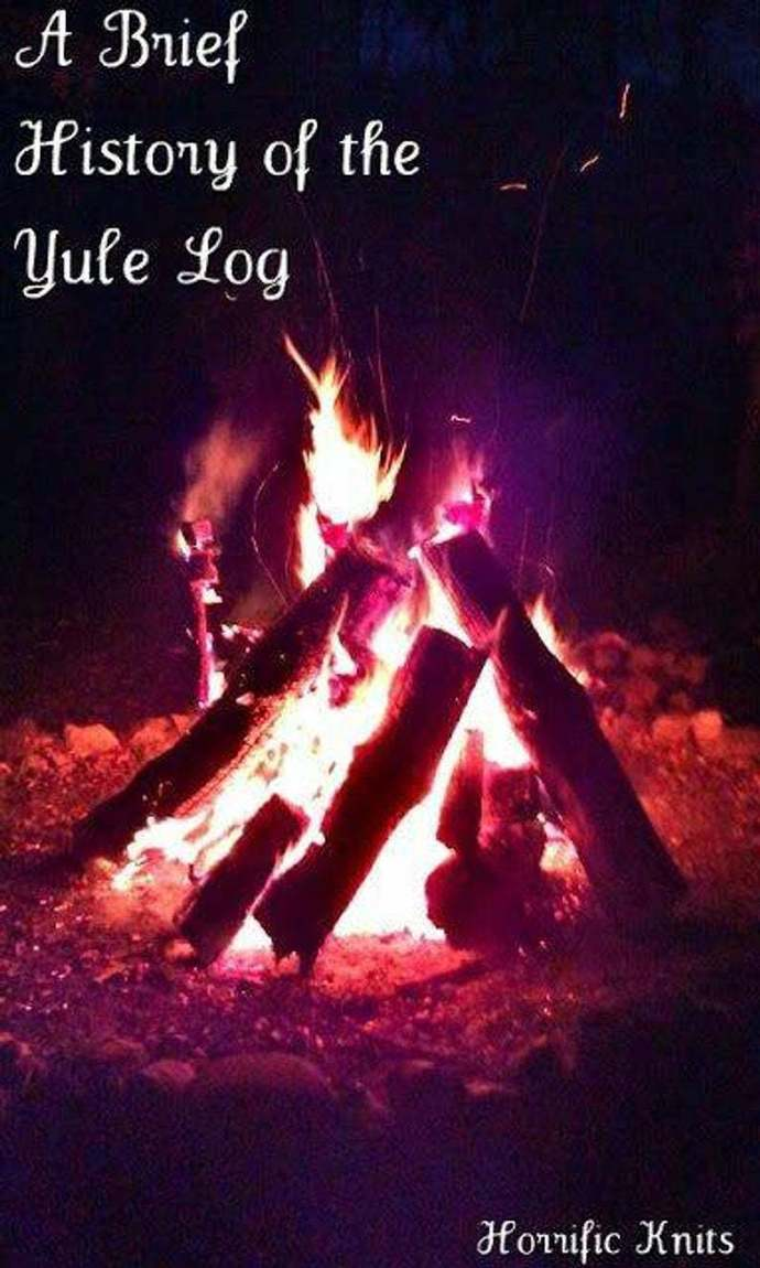 THE HISTORY OF THE YULE LOG