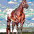 Appaloosa Halter Stallion, 300 x 375 graphghan crochet pattern