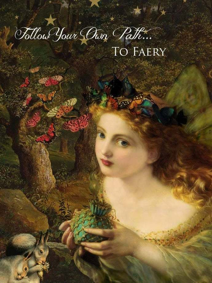 THE FAERY INITIATION AND KINSHIP TUTORIAL / VIDEO COURSE ONLINE