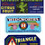 12 Different Florida Fruit Vegetable Labels - Scrapbooking or Collecting