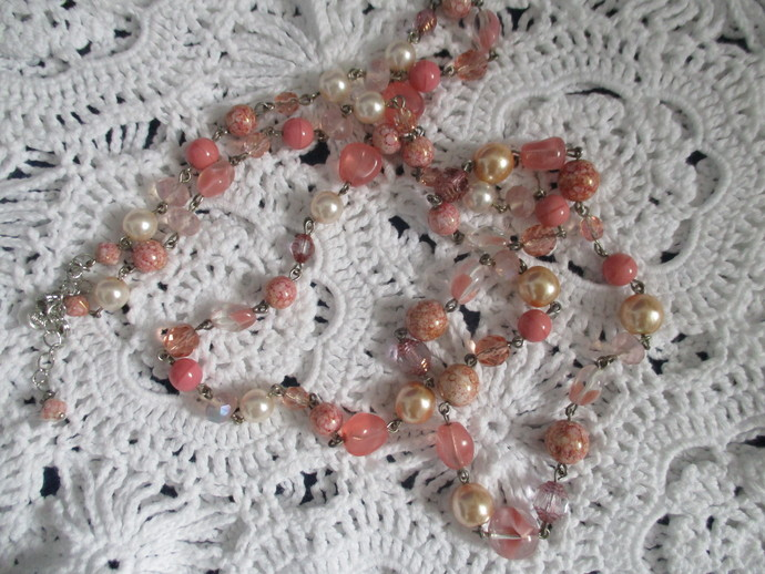Gorgeous Long Beaded Necklace