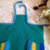 KNITTED PATTERN Children's Apron Pattern Gift For Her Apron With ruffles Apron