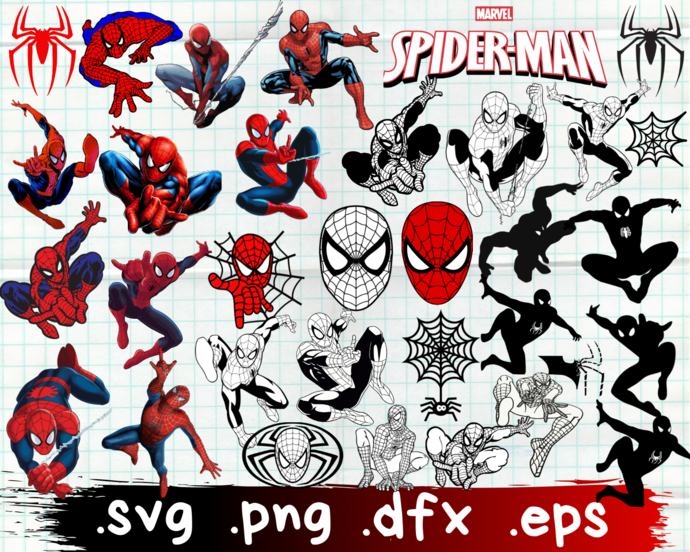Spider-Man, Spider-Man svg, Spider-Man logo, Spider-Man clipart, Spider-Man