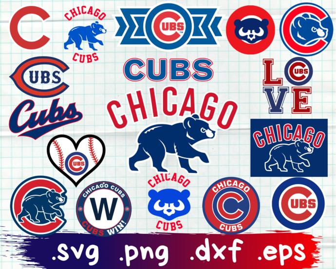 Chicago Cubs, Chicago Cubs svg, Chicago Cubs clipart, Chicago Cubs logo, Chicago