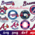 Atlanta Braves, Atlanta Braves svg, Atlanta Braves logo, Atlanta Braves clipart,