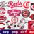Cincinnati Reds, Cincinnati Reds svg, Cincinnati Reds logo, Cincinnati Reds