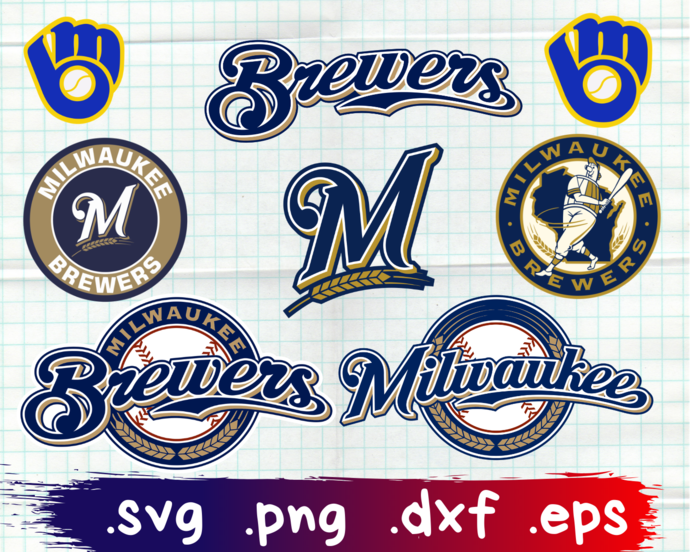 ClipartShop, Milwaukee Brewers, Milwaukee Brewers svg, Milwaukee Brewers logo,