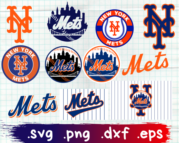 New York Mets, New York Mets svg, New York Mets logo, New York Mets clipart, New