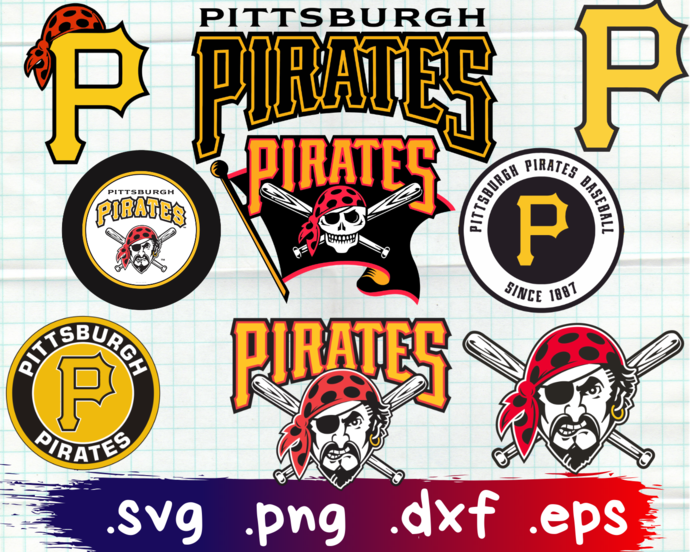 Pittsburgh Pirates, Pittsburgh Pirates svg, Pittsburgh Pirates logo, Pittsburgh