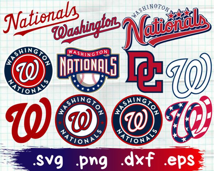 Washington Nationals, Washington Nationals svg, Washington Nationals clipart,