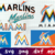 Miami Marlins, Miami Marlins svg, Miami Marlins logo, Miami Marlins clipart,