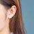 Smiley Face Silver Studs  Little  Emoji Circle Dot  Disk Stud Earrings 