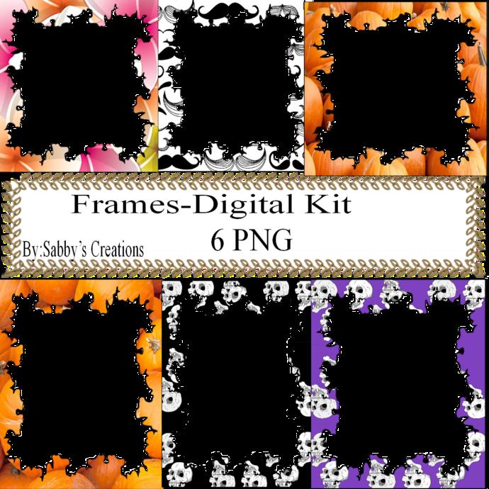 Frames Shapes 1B-Digital Kit-Jewelry Tag-Clipart-Gift Tag-Holiday-Digital