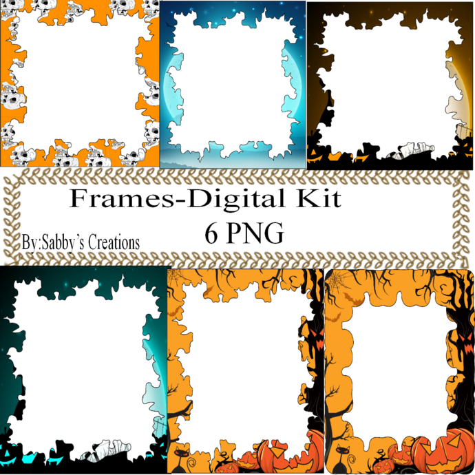 Frames Shapes 1C-Digital Kit-Jewelry Tag-Clipart-Gift Tag-Holiday-Digital