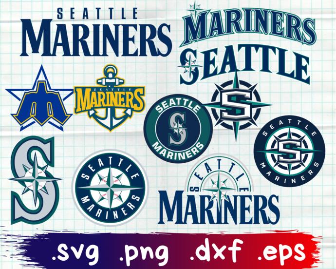 Seattle Mariners, Seattle Mariners svg, Seattle Mariners clipart, Seattle