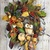 Fall Door Wreath for Front Door Autumn Halloween Decor, Outdoor Owl Wreath.