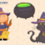 Cute Halloween Witches and Ghosts Clip Art Collection