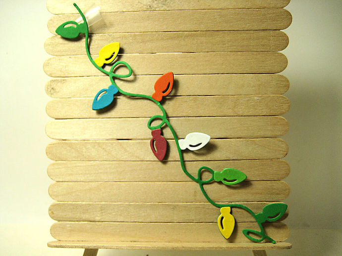 4pc Christmas Light String Metal Cutting Dies