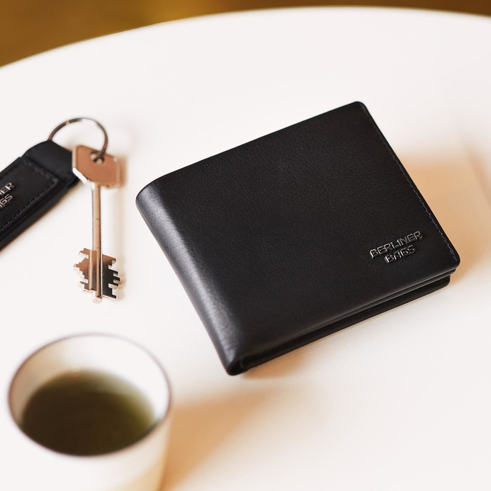 Amazing Black Wallets Authentic Leather