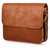 Ghent Spacious and stylish messenger Leather