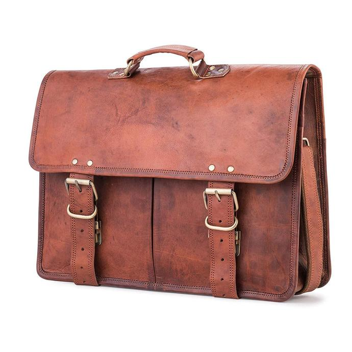 Amsterdam style Messenger Authentic Leather