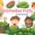 Watermelon Patch Kids Clip Art Collection