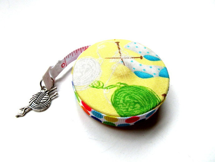 Knitting Socks Small Retractable Tape Measure
